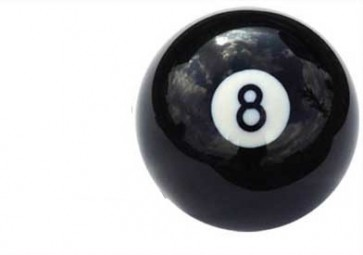 Eddie Charlton 4Xnumber 8 Replacement Black Ball 2 Inch